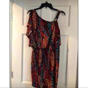 One shoulder dress medium